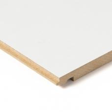 Стеновые панели CLICWALL 050-MAT Белый матовый под покраску 2785*618*10 мм