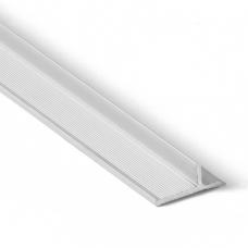 Алюминиевый профиль для отделки CLICWALL внутренний угол 2785*7*16 мм